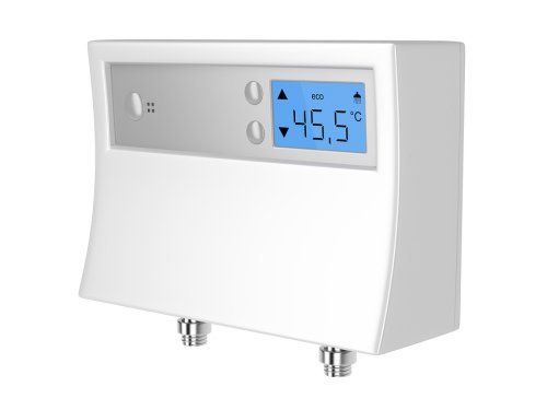 Tankless water heater meter